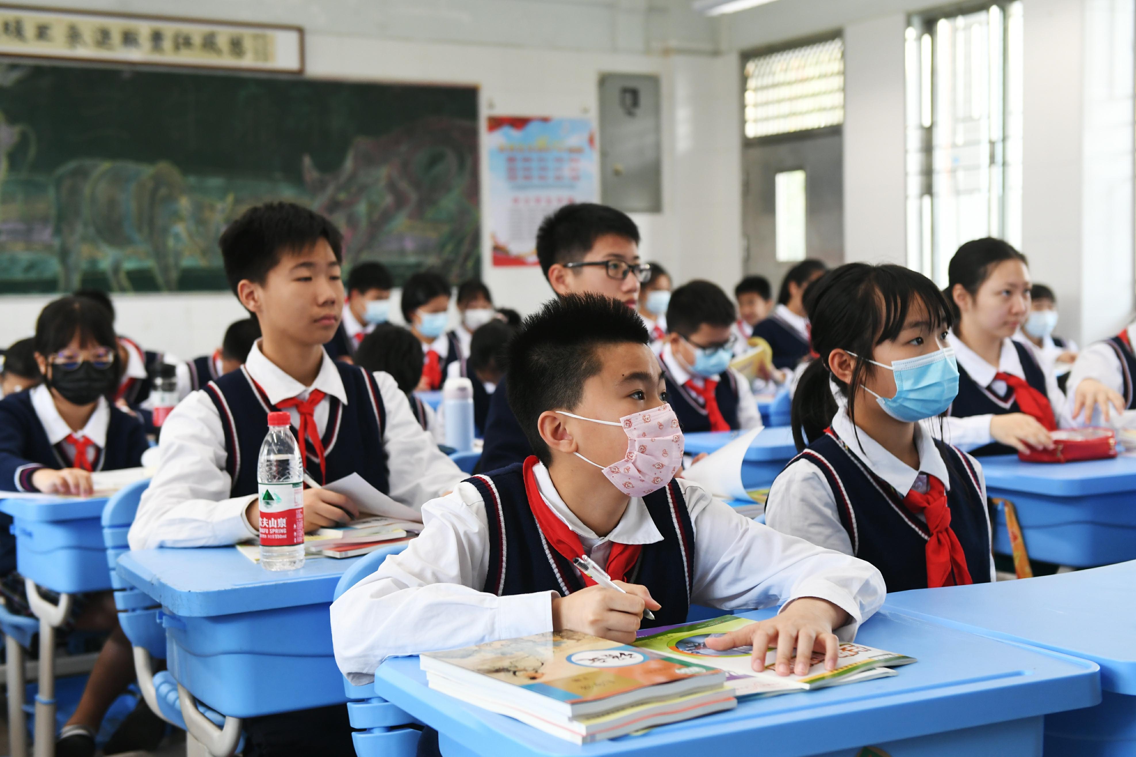 广州今年至少新开18所中小学,一贯制学校占72%